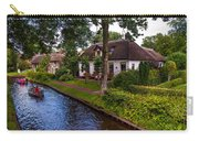 Along The Canal. Giethoorn. Netherland Carry-all Pouch