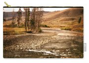 Along The Larmar River 2 Carry-all Pouch by Marty Koch