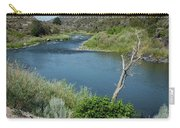 Along The Rio Grande River Carry-all Pouch