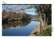 Along The River In Shelbourne Falls Carry-all Pouch