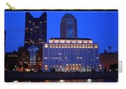 Along The Scioto At Night Carry-all Pouch