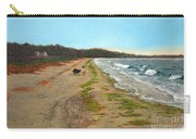 Along The Shore In Hyde Hole Beach Rhode Island Carry-all Pouch