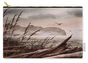 Along The Wild Shore Carry-all Pouch