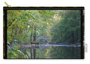 Along The Wissahickon In October Carry-all Pouch