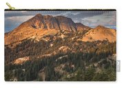 Alpenglow On Brokeoff Mountain Carry-all Pouch