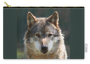 Alpha Male Wolf - I'm Watching You Carry-all Pouch