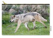 Alpha Wolf On The Move Carry-all Pouch