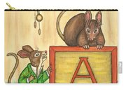 Alphabet Mice Carry-all Pouch