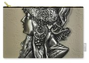 Alphonse Mucha 1860-1939 New Profile Carry-all Pouch