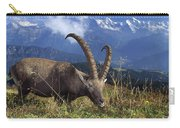 Alpin Ibex Male Grazing Carry-all Pouch by Konrad Wothe