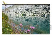 Alpine Lake And Flora Carry-all Pouch