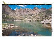 Alpine Lake Beneath Sunlight Peak Carry-all Pouch