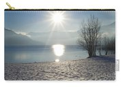 Alpine Lake With Snow Carry-all Pouch
