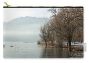 Alpine Lake With Trees Carry-all Pouch