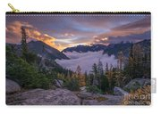Alpine Lakes Morning Cloudscape Carry-all Pouch