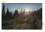 Alpine Meadow Sunrays Carry-all Pouch
