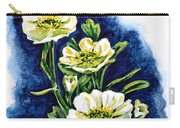 Alpine Ranunculus Carry-all Pouch