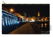 Alpine Village At Night Carry-all Pouch