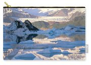Alsek Glacier In St. Elias Mountains Carry-all Pouch