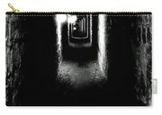 Altered Image Of The Catacomb Tunnels Paris France  Carry-all Pouch