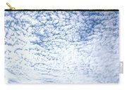 Altocumulus Stratiformis Perlucidus Cloud Carry-all Pouch