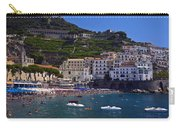 Amalfi Beach And Town Carry-all Pouch