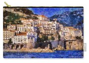 Amalfi Town In Italy Carry-all Pouch