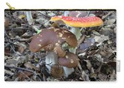 Amanita Muscaria And Edible Boletus Carry-all Pouch