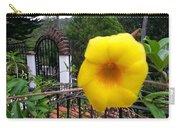 Amarillo La Flor Carry-all Pouch