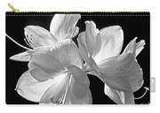 Amaryllis - Bw Carry-all Pouch