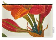 Amaryllis Purpurea Carry-all Pouch