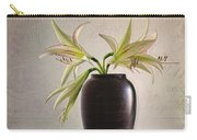 Amaryllis Vintage Carry-all Pouch
