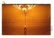 Amazing Antique Chandelier - Grand Central Station New York Carry-all Pouch