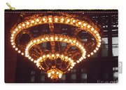 Amazing Art Nouveau Antique Chandelier - Grand Central Station New York Carry-all Pouch
