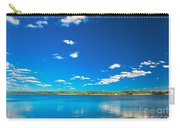 Amazing Clear Lake Under Blue Sunny Sky Carry-all Pouch