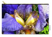 Amazing Iris Carry-all Pouch