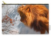Amazing Male Lion Carry-all Pouch