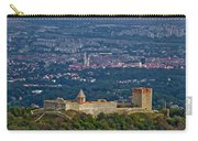 Amazing Medvedgrad Castle And Croatian Capital Zagreb Carry-all Pouch