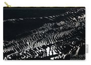 Amazing Rice Terrace In Black And White Carry-all Pouch