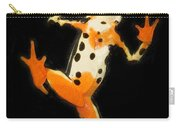 Amazon Harlequin Toad Carry-all Pouch