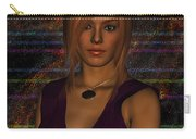 Amber Digital Portait Carry-all Pouch