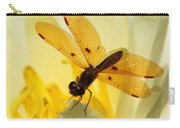 Amber Dragonfly Dancer Carry-all Pouch