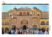 Amber Fort Entrance To Living Quarters - Jaipur India Carry-all Pouch