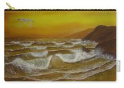 Amber Sunset Beach Seascape Carry-all Pouch