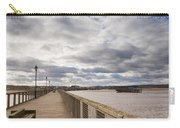 Amble Harbour And Village Carry-all Pouch