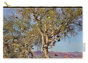 Amboy Shoe Tree By Diana Sainz Carry-all Pouch