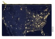 America At Night Carry-all Pouch