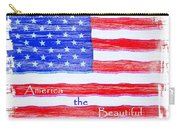 America The Beautiful Carry-all Pouch by Robert ONeil