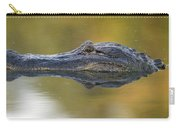 American Alligator Reflection Carry-all Pouch