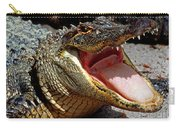 American Alligator Threat Display Carry-all Pouch